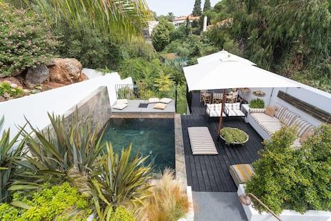 Cascais Increíble casa con piscina profunda compartida