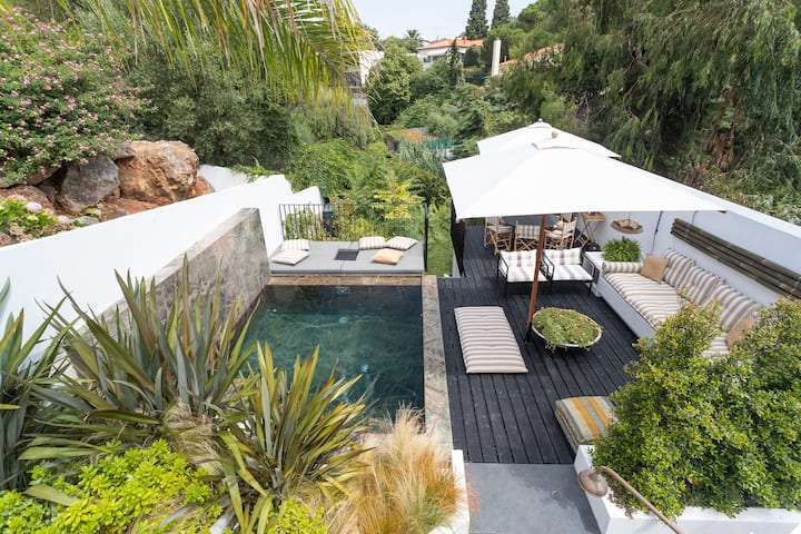 Cascais Amazing Pool House With Shared Plunge Pool