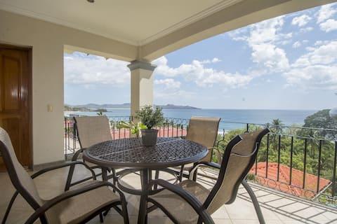 2 BR Oceanica Ocean View Condo, Walk to Flamingo Beach!