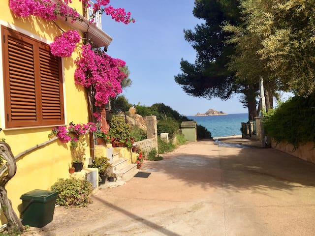 Close to the sea,10meters from the beach,Sardinia