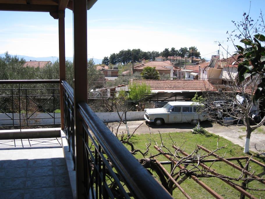 Balcony Area - View