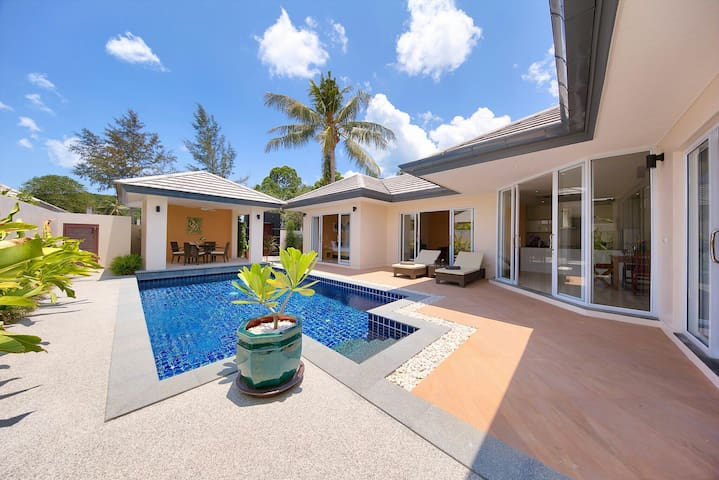 Private 2bed villa with own pool - TH - วิลล่า