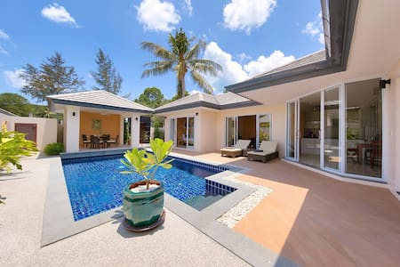 Private 2bed villa with own pool