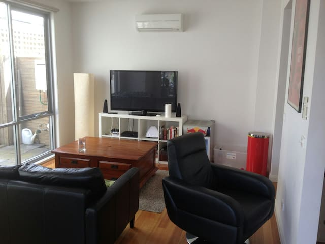 Modern inner city townhouse room - Burnley - อพาร์ทเมนท์