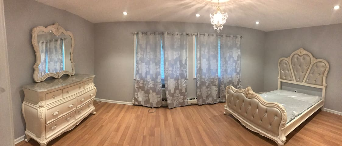 Spacious furnished room in beautiful townhouse (c)