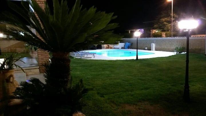 Splendida villa con piscina
