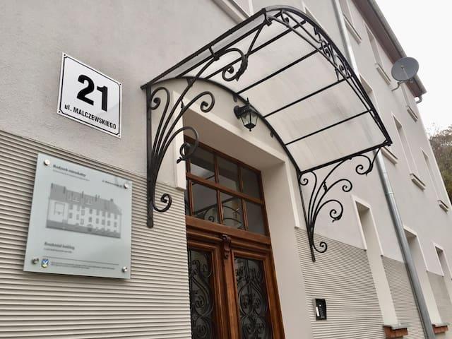 Klimatyczny Apartament w Sopockiej Kamienicy