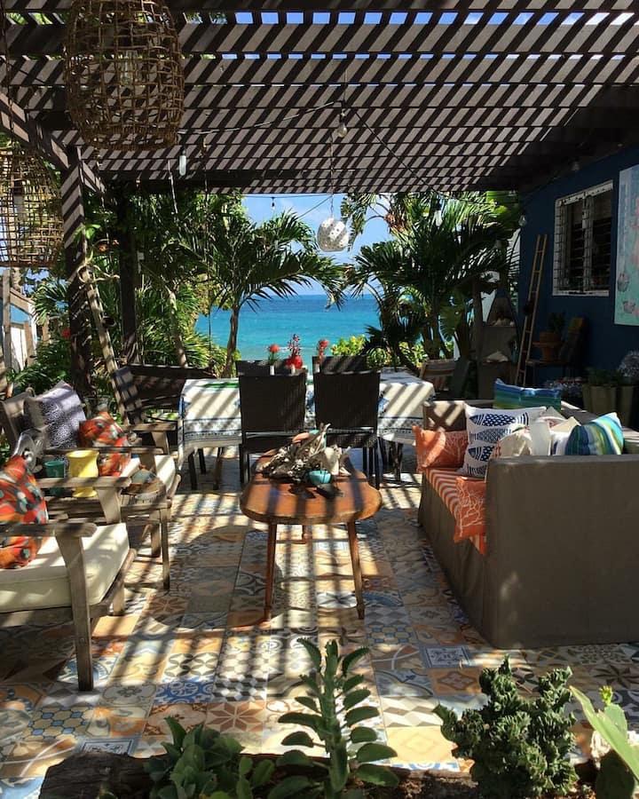 Prickly Pear View  Caribbean Coastal Home