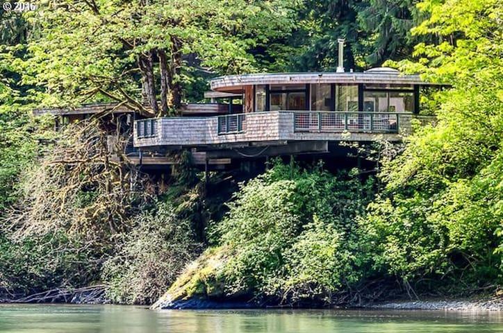 McKenzie River Sky House - Springfield - House