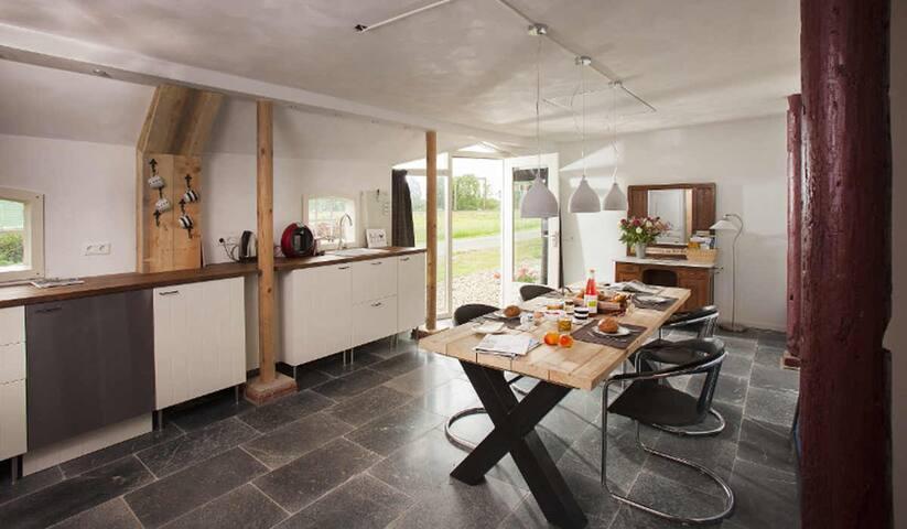 B&B de Bondheerd, 2 kamers inclusief ontbijt.