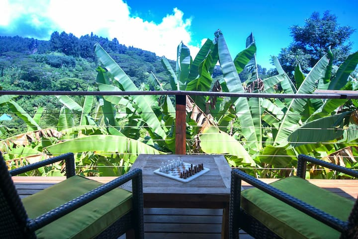 Tropical Hillside, slice of heaven - Pape'ete - บ้าน
