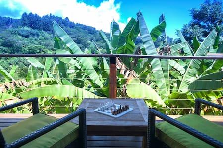 Tropical Hillside, slice of heaven - Pape'ete