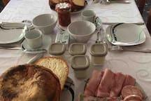 Exemple de petits déjeuners