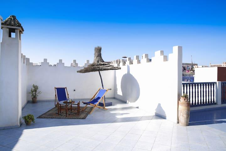 Superbe maison/appartement au Coeur de la Médina