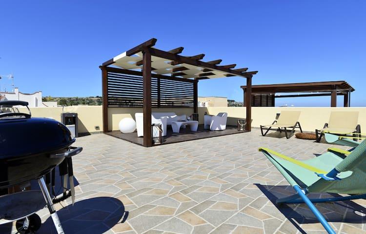 Mira6-San Vito Lo Capo beach, 550mt - WI-FI FLAT