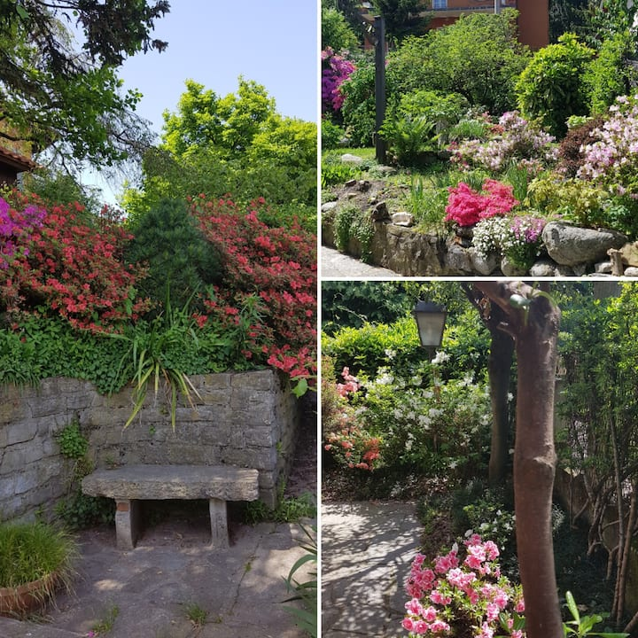 Como, Apartment with Garden & Parking