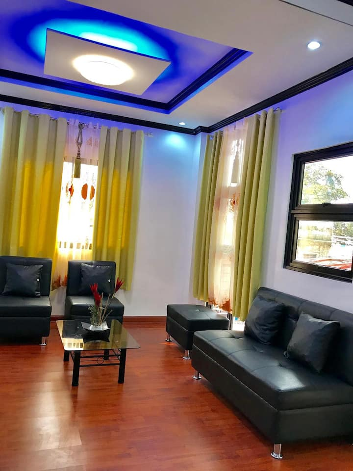 Del's  2 storey apartment in Quezon City