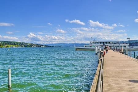 Luxury 2-room apartment near the lake of Zurich - Zurique - Apartamento