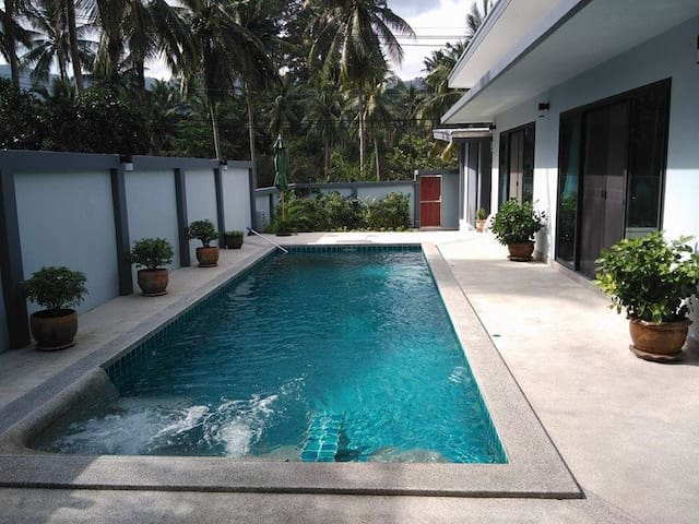 Double room with all comfort / Small private terra - Ko Samui - Bed & Breakfast