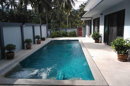 Chambre double tout confort/petite terrasse privée - Ko Samui