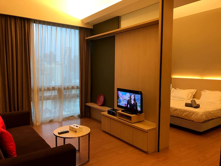 Warm and cozy suites for you to relax while exploring KL!