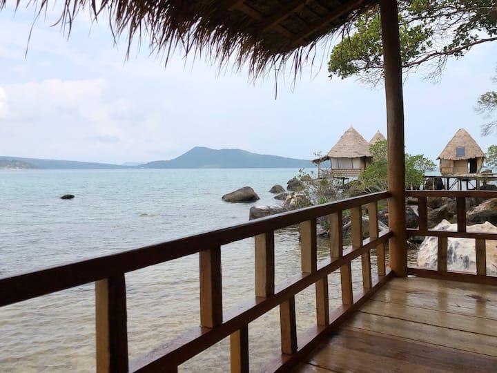 Sea View Bungalow 6 @ Jungle Bay Eco-lodge