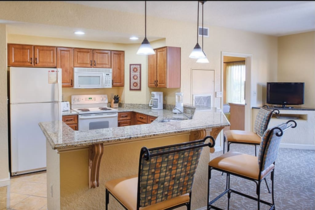 Beautiful kitchen with everything you need… Home away from home!