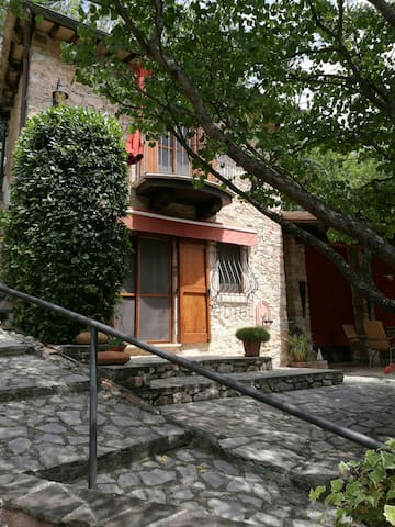 Lovely cottage in Umbria - Civitella - Huis