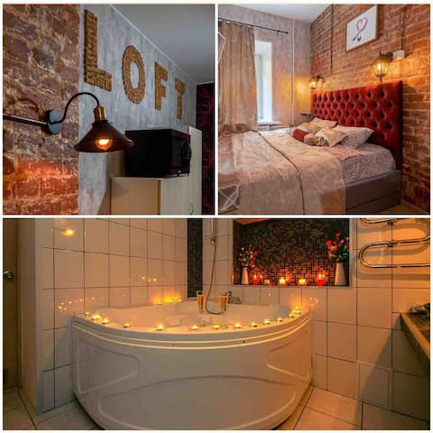 Romantic in LOFT❤Old Sity Centre❤Самый центр💖