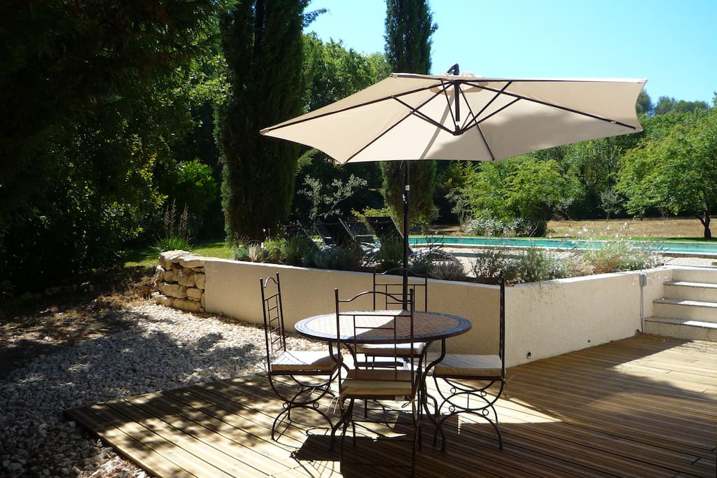 Maison de 80m sur grande propri t avec piscine houses for Camping alpes de hautes provence avec piscine