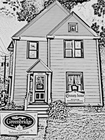Greenbridge Teahouse B&B  With contact-free option