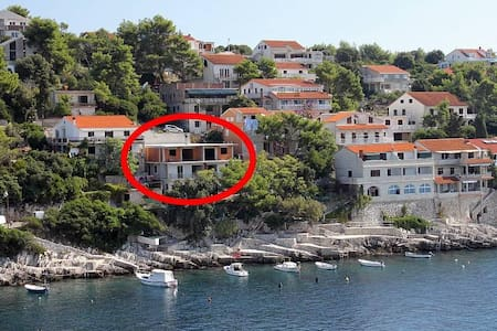 One bedroom apartment near beach Zavalatica, Korčula (A-9314-b) - Korčula