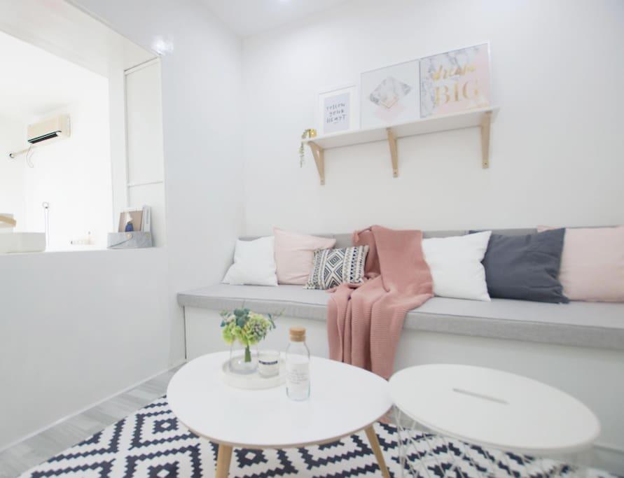 温馨的客厅