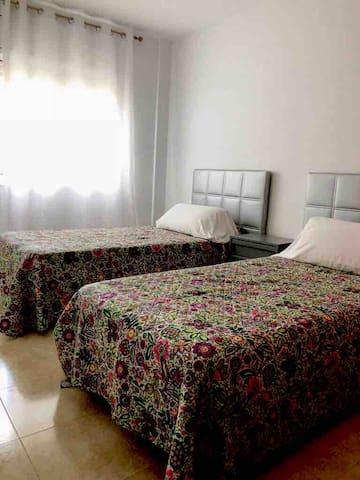 Habitación dos camas simples