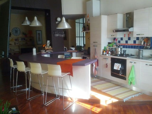 Private room in cozy and modern apartment - Alessandria - Apartment