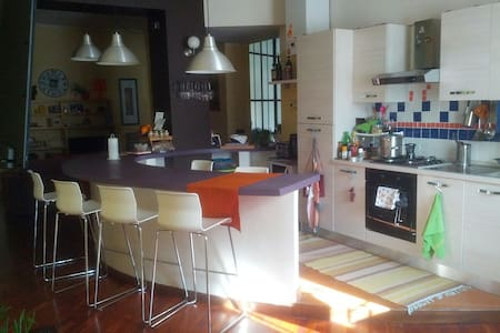 Private room in cozy and modern apartment - Alessandria