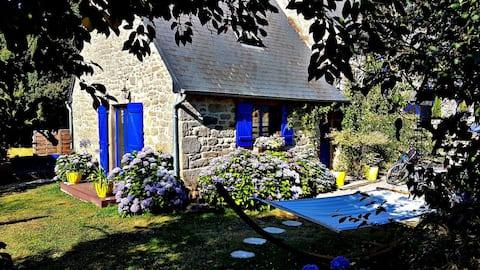 Romanttinen paeta maaseudulla Bretagne/Jugon les Lacs