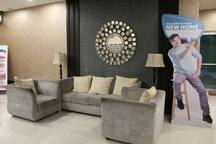 Waiting area at the Lobby
