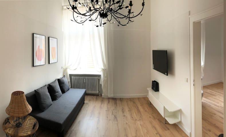 Gemütliche & schöne Design Wohnung im Zentrum