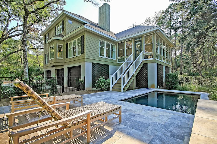 Gated Resort Getaway with Pool & Covered Porch