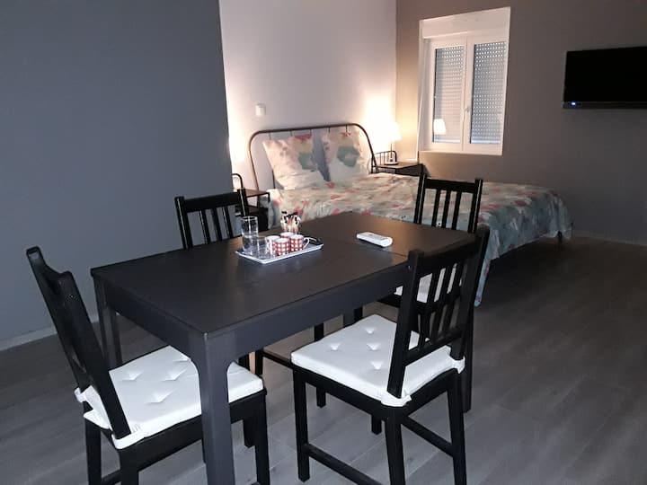 appartement  de 50 m2  dans un petit village calme