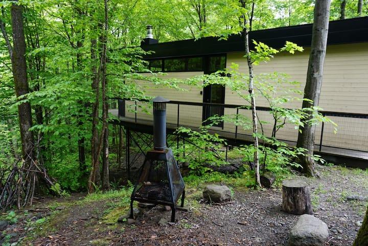Cabin Sutton 256 - une cabane dans les arbres!