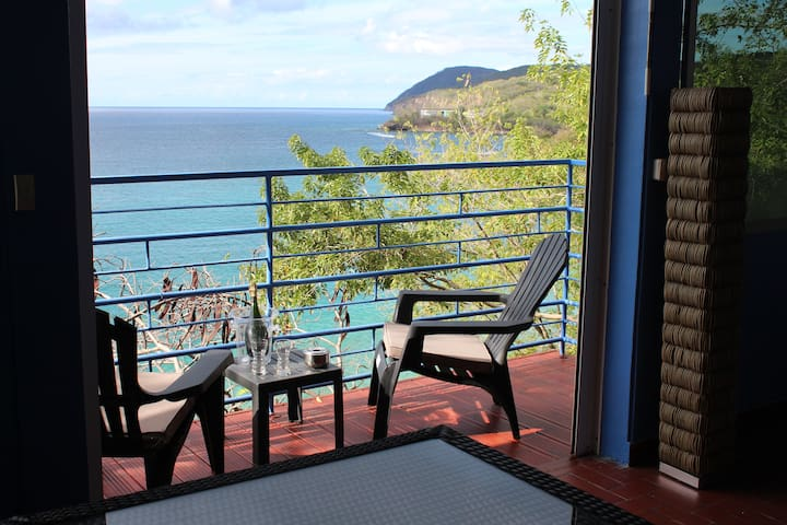 balcon avec vue