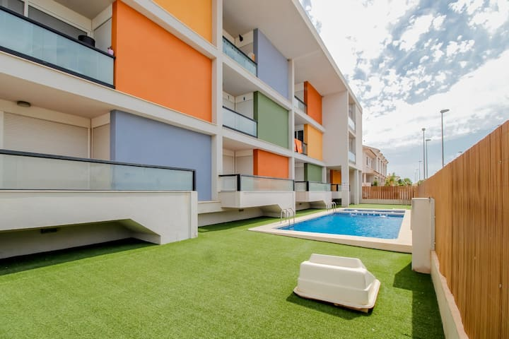 Cosy&Comfy apartment in Rojales+SWIMMING POOL OPEN