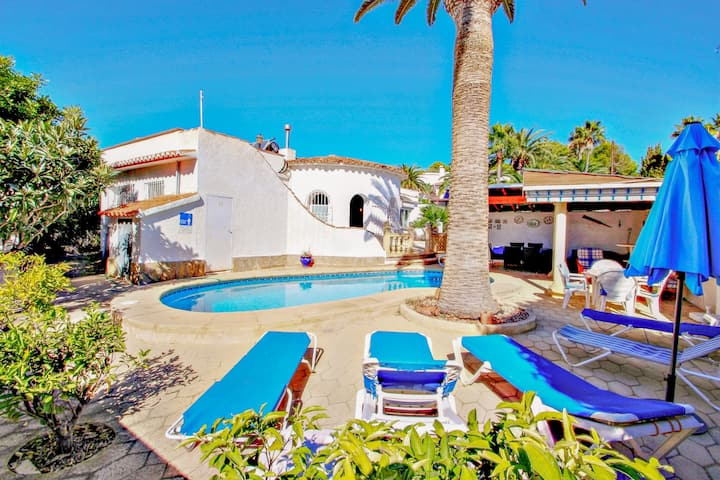 Nicole - villa with great views and private pool in Benissa