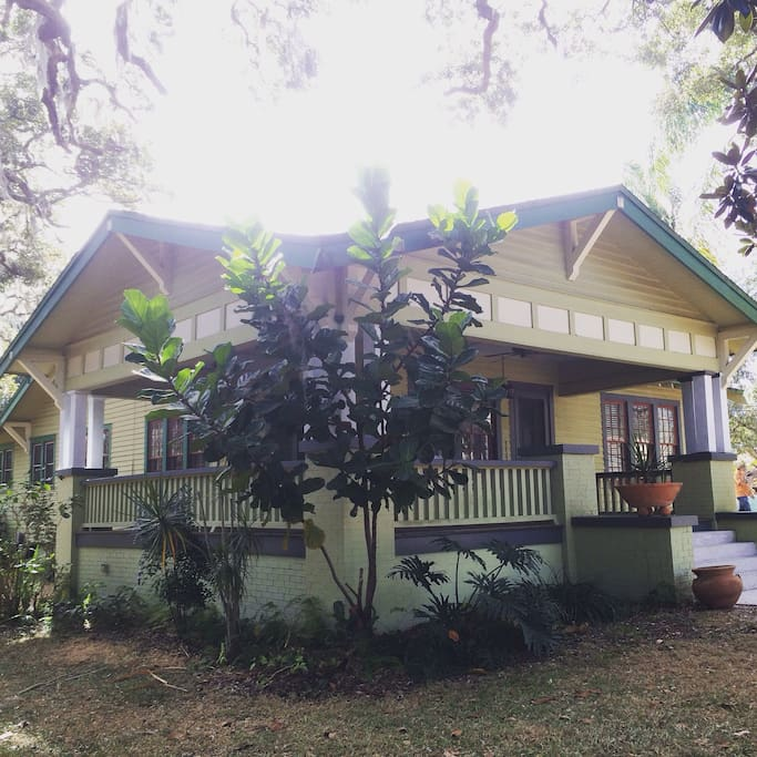 Built in 1920, the bungalow character is timeless