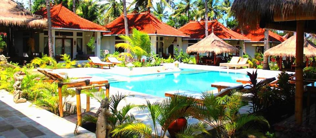 $76! Deluxe Bungalow for 4 in Meno with POOL! - Pemenang