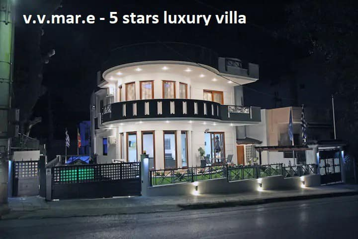 v.v.mar.e varkiza reviera 5***** (3 levels villa)