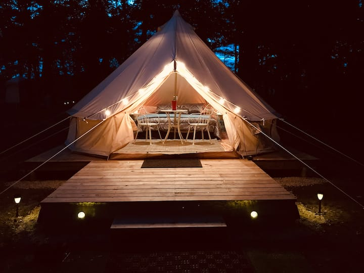 Pathway Creations Bell Tent Camping/Glamping Site3