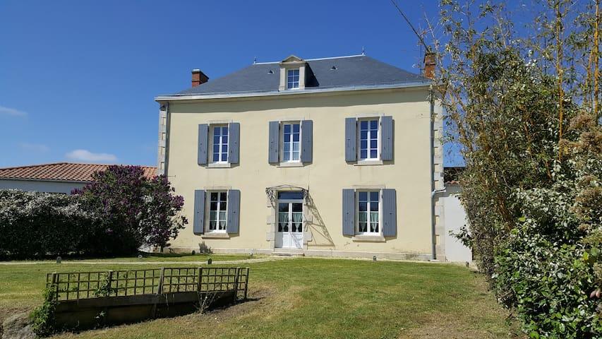 Maison de charme en Vendée Marais Poitevin